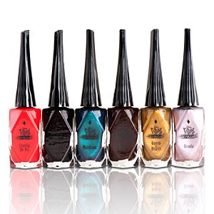 Disney Villains Nail Polish Set -- 6-Pack
