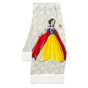 Silk Disney Princess Designer Snow White Scarf