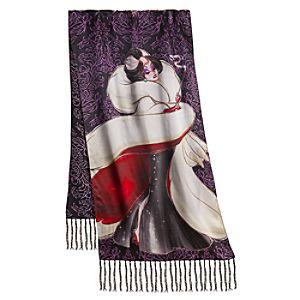 Disney Villains Cruella De Vil Scarf for Women