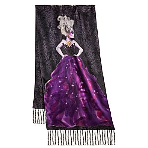 Disney Villains Ursula Scarf for Women