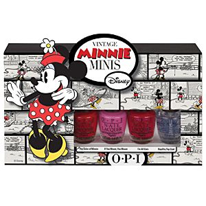 Minnie Mouse Nail Polish Set by O.P.I. -- 4-Pc.