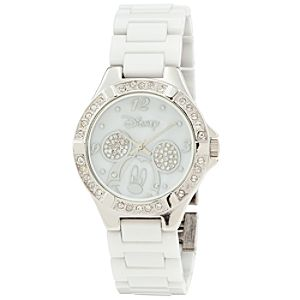 Ceramic Mickey Mouse Watch for Women