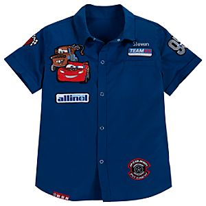 Woven Mechanic Cars 2 Shirt for Boys
