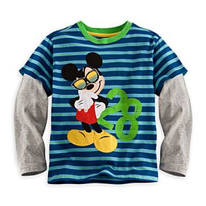 Mickey Mouse Double-Up Tee for Boys