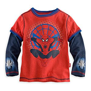Spider-Man Long-Sleeve Tee for Boys
