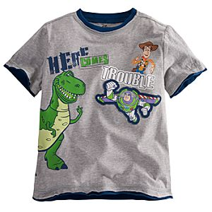 Here Comes Trouble Toy Story Tee for Boys