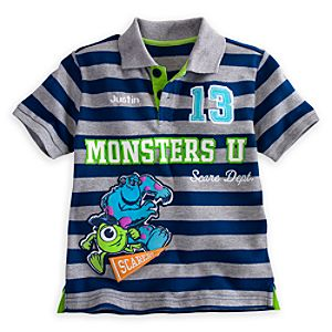 Monsters University Polo Shirt for Boys - Personalizable