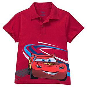 Lightning McQueen Polo for Boys