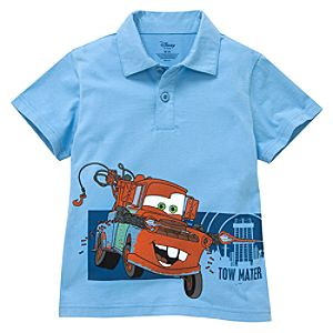 Tow Mater Polo Shirt for Boys