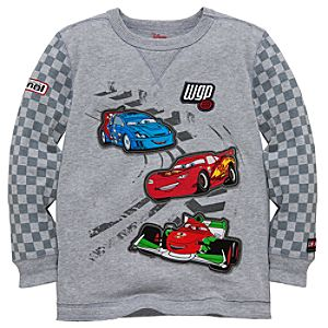 Long Sleeve Cars 2 Tee for Boys