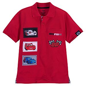 Patches Cars 2 Polo for Boys