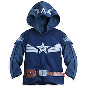 Captain America Double-Up Top for Boys