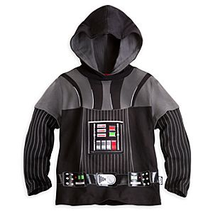 Darth Vader Hooded Tee for Boys