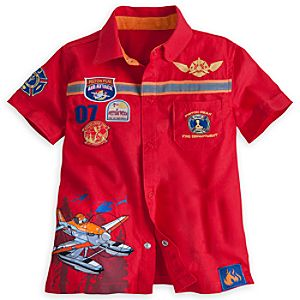 Planes: Fire & Rescue Woven Top for Boys