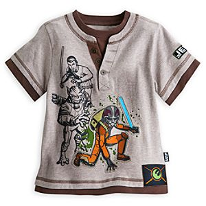 Star Wars Rebels Henley Tee for Boys