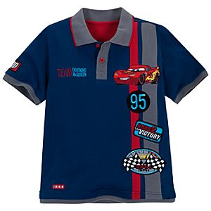 Road 2 Victory Cars 2 Lightning McQueen Polo for Boys