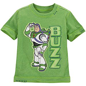 Green Buzz Lightyear Tee for Boys