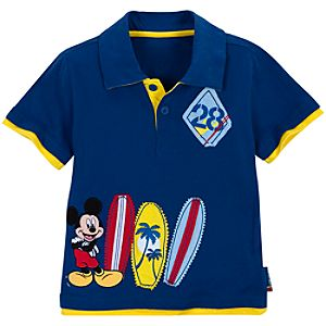 Surf Patrol Mickey Mouse Polo for Boys