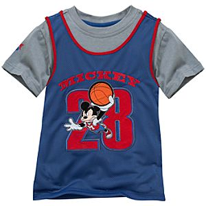 Mickey Mouse Tee and Tank for Toddlers
