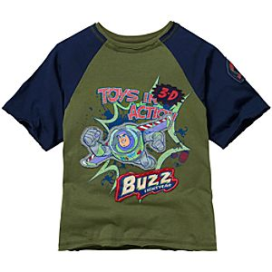 Raglan Buzz Lightyear Tee for Boys