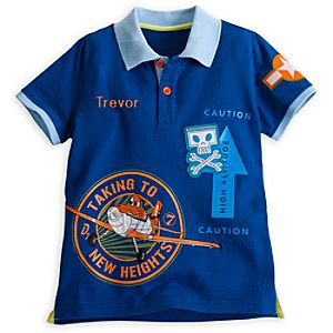 Planes Polo Shirt for Boys - Personalizable