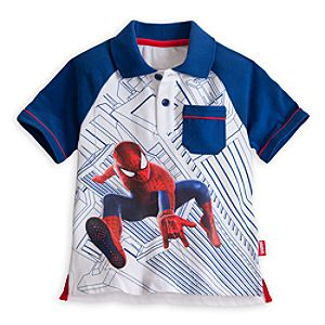 The Amazing Spider-Man Polo Shirt for Boys