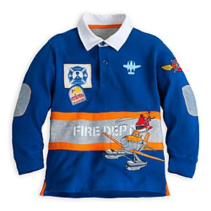 Planes: Fire & Rescue Rugby Top for Boys