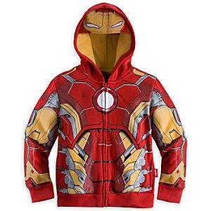Iron Man Costume Hoodie for Boys - Marvels Avengers: Age of Ultron