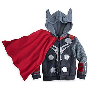 Thor Costume Hoodie for Boys - Marvels Avengers: Age of Ultron