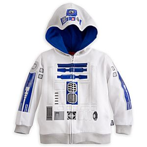 R2-D2 Costume Hoodie for Boys - Star Wars
