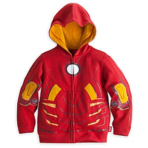 Iron Man Costume Hoodie for Boys