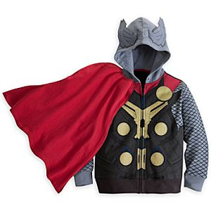 Thor Costume Hoodie for Boys