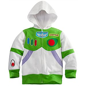 Zip Fleece Buzz Lightyear Hoodie for Boys