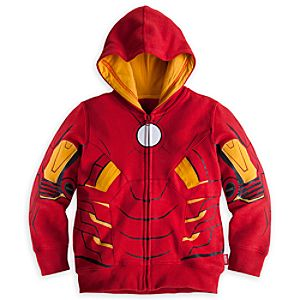 Iron Man Hoodie for Boys - Personalizable