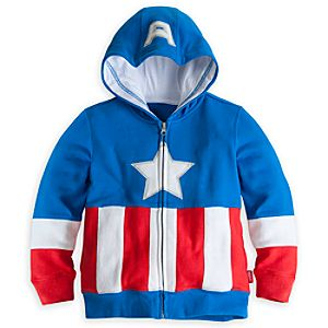 Captain America Hoodie for Boys