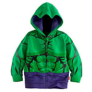 Hulk Costume Hoodie for Boys