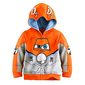 Dusty Costume Hoodie for Boys - Planes: Fire & Rescue