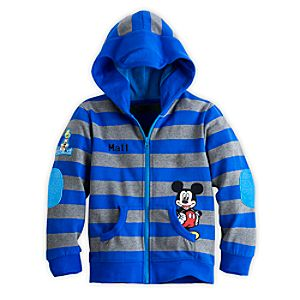 Mickey Mouse and Goofy Hoodie for Boys - Personalizable