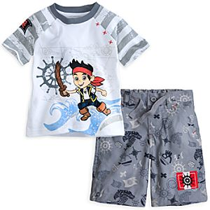 Jake Tee and Shorts Set for Boys