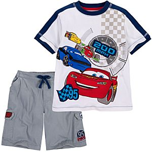 Cars 2 Tee and Shorts Set for Boys -- 2-Pc.