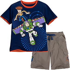 Toy Story Tee and Shorts Set for Boys -- 2-Pc.