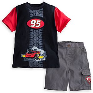 Lightning McQueen Short Set for Boys