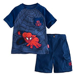 Spider-Man Short Set for Boys