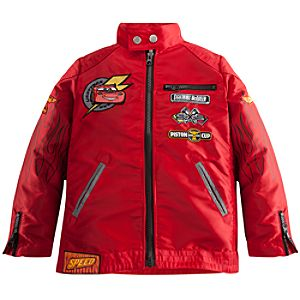 Personalizable Lightning McQueen Jacket for Boys