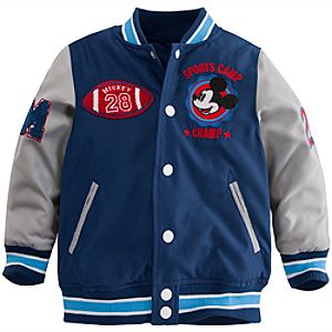 Personalizable Mickey Mouse Varsity Jacket for Boys