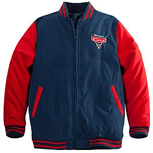 Personalizable Cars 2 Varsity Jacket for Boys