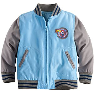 Personalizable Varsity Mickey Mouse Jacket for Toddler Boys