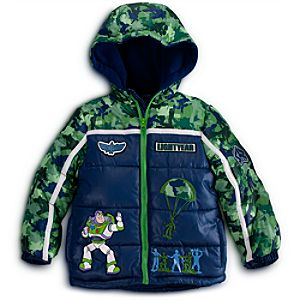Personalizable Puffy Buzz Lightyear Jacket for Boys