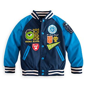 Monsters University Varsity Jacket for Boys
