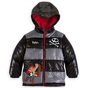 Jake Puffy Jacket for Boys - Personalized